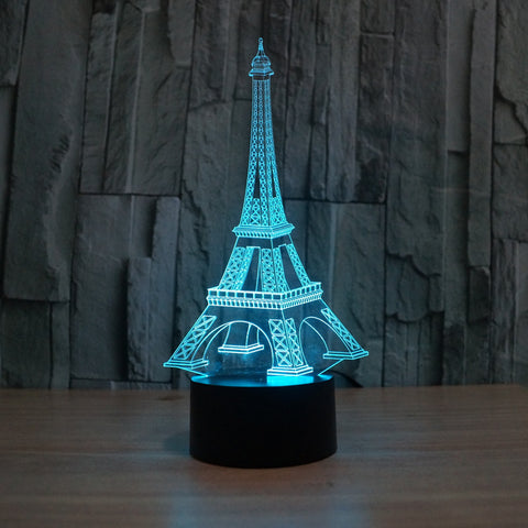 2016 3d light Creative visual stereo lamps LED touch lamps switch  Power Bank Abajur Night Light Lava Lamp Table Lamp