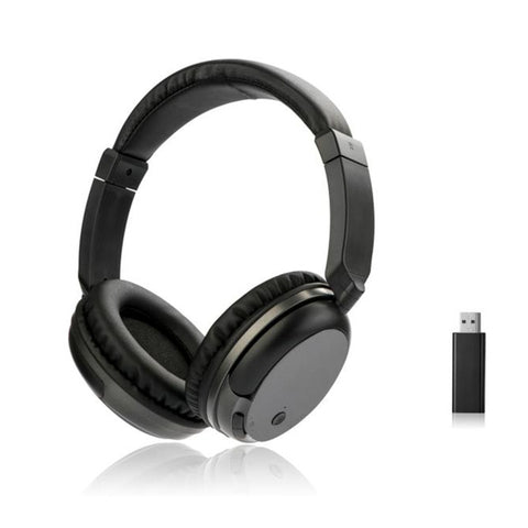 New TV Rechargeable Multifunction 2.4G Wireless Headset TV Headphones with Microphone for TV PC iPad Phones MP3 Gifts