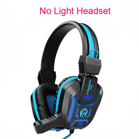 New Canleen Stereo Surrounded Deep Bass LED Light Gaming Headphone Headset Over-Ear Earphone with Light for LOL PC Gamer