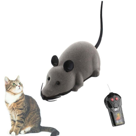 Wireless Remote Control Mouse Electronic Toy Rat Mice Toy Gift For Kids Mouse Love Cute Toy Black Brown Gray