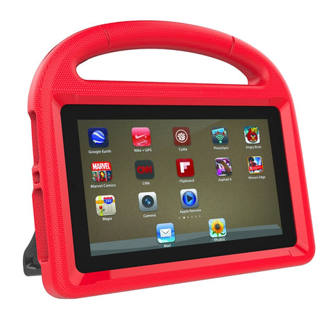 Handle Stand EVA Protective Cover Shockproof Convertible 7 Inch Display Lightweight Child Case for 2017 Amazon Kindle Fire 7 Tablet