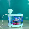 Image of Home Car Ultrasonic Humidifier Mini Fish Tank Acquario USB Air Purifier Atomization Machine Mist Maker Fogger Humidifier