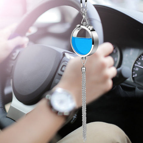 Car Air Freshener Perfume Hanging Pendant Fragrance Smell Freshener Automobiles Interior Scent Odor Diffuser Auto Flavoring Gift