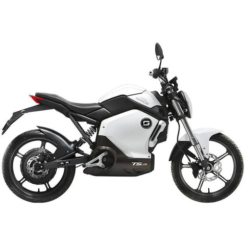 Hcgwork Soco Ts Lite Lithium Electric Motorcycle/scooter/motorbike/monkey Straddle Style Smart With Battery Free Shipping