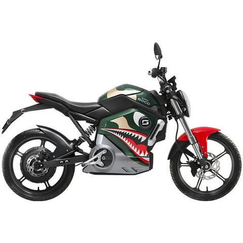 Hcgwork Soco Ts Lite Lithium Electric Motorcycle/scooter/motorbike/monkey Cafe Retro Racer Grom Style With Battery Free Shipping