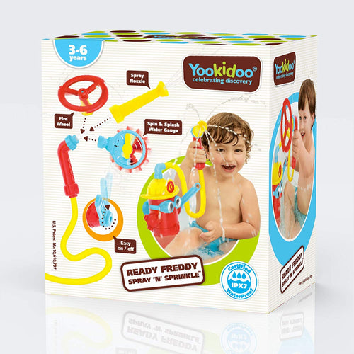 Ready Freddy Bath Toy