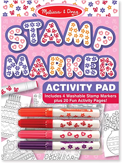 Melissa & Doug Stamp Marker Activity Pad