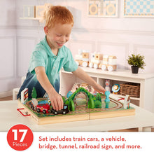 Melissa & Doug Take Along Railroad