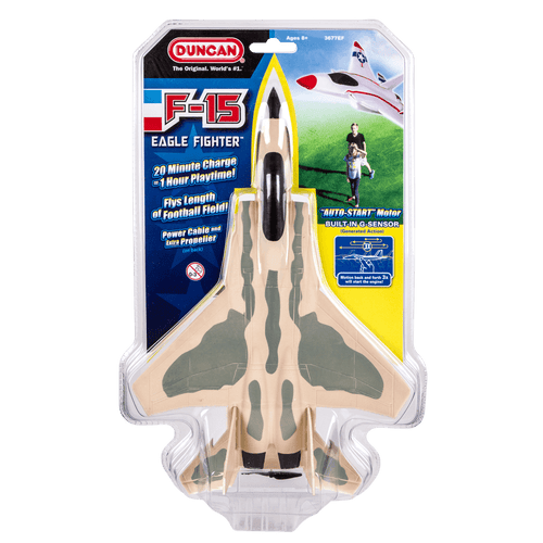 Duncan F-15 Fighter Plane with Power Assist