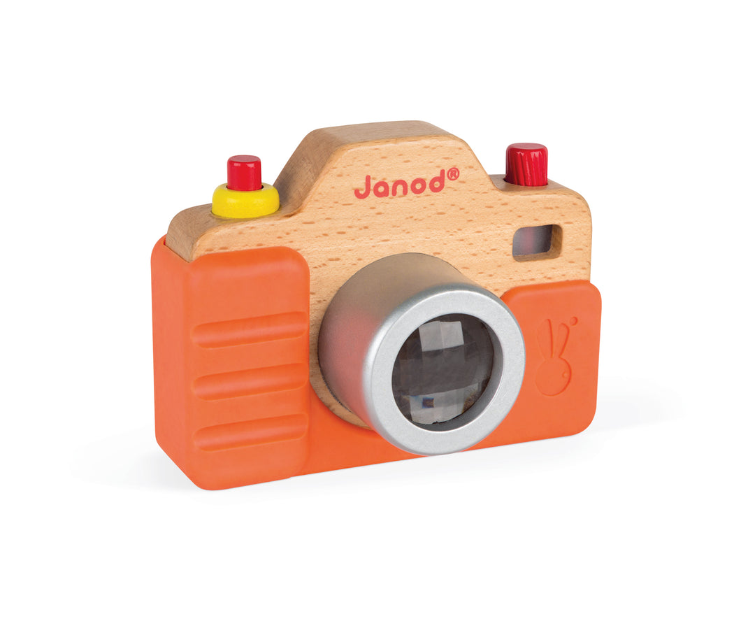 Janod First Camera with Sound Wooden Toy