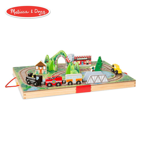 Melissa and Doug Take Along Railroad