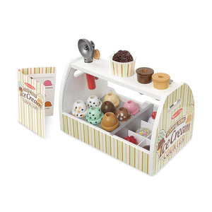 Melissa and Doug Ice Cream Counter