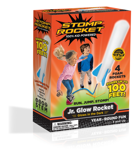 Jr. Glow Stomp Rockets