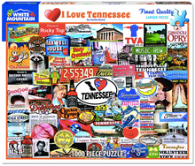 I Love Tennessee Puzzle
