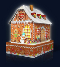 Gingerbread House 3D Puzzle