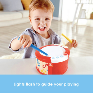 Learn to Play Drum with Lights