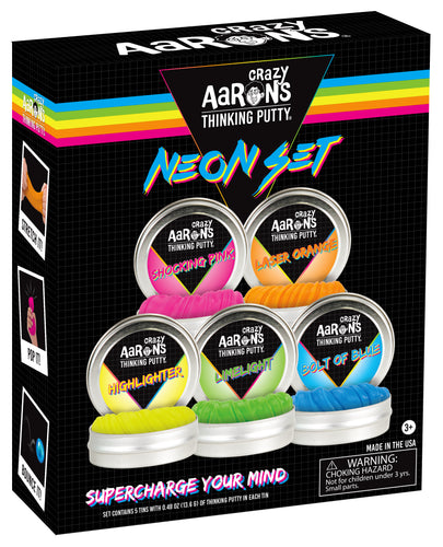 Thinking Putty Neon Set