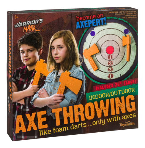 Warrior's Mark Axe Throwing Game