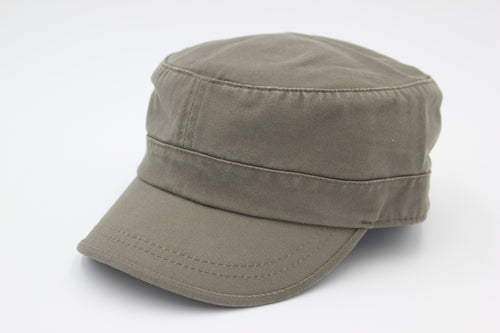 Blank Lady hat, Military hat, cadet hat, 100% Cotton Twill Adjustable Corps Hat Oliver prewashed