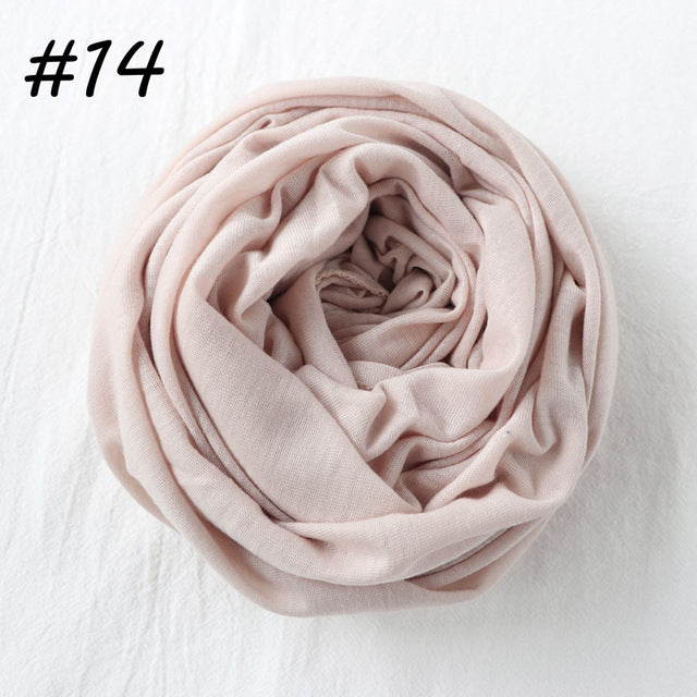 Plain jersey Scarf (29 colors)