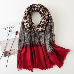 Leopard Scarf (13 colors)
