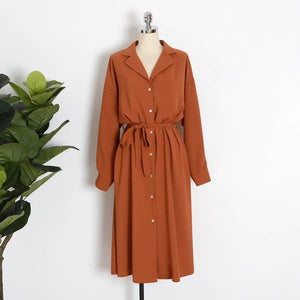 Long shirt dress (6 Colors)