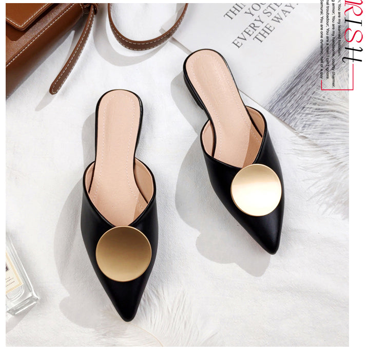 Black Pointed Mule