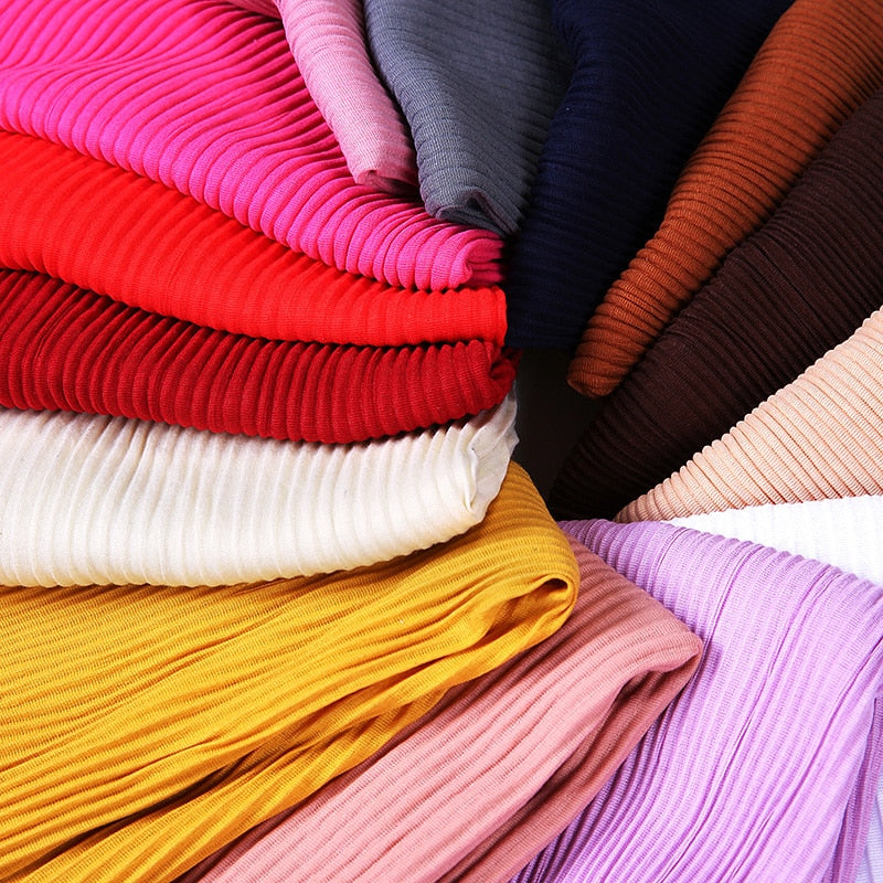 Ribbed Jersey Hijab Scarf (32 colors)