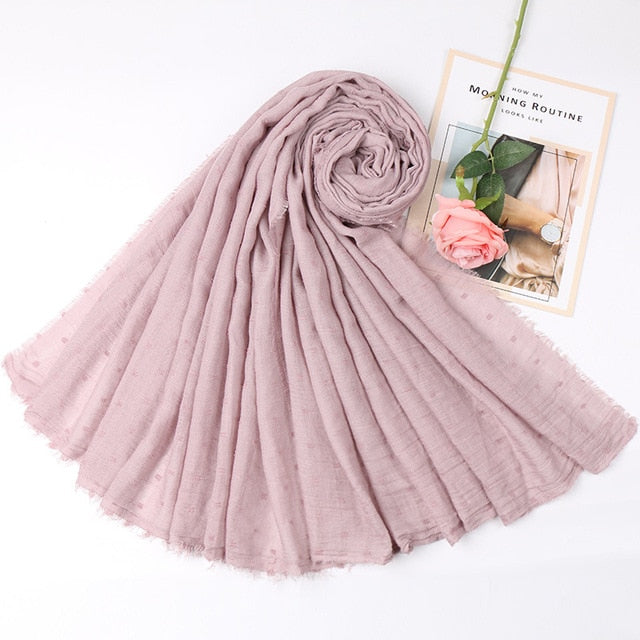 Pebble Cotton Hijabs (31 colors)
