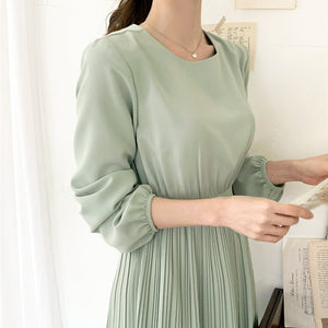 Draped dress (2 colors)