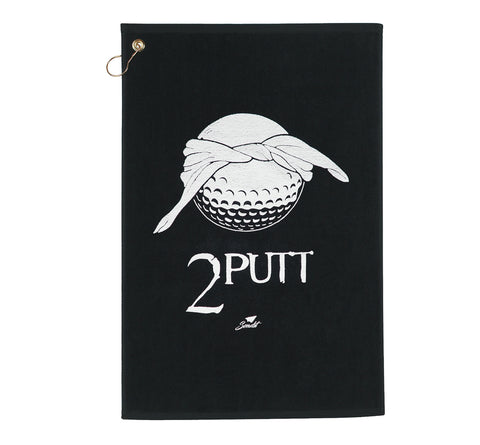 Send it golf 2 putt premium velour golf towel. Sendit 2putt golf towel
