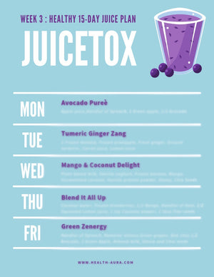The Juicetox Liver & Gut Cleanse ™
