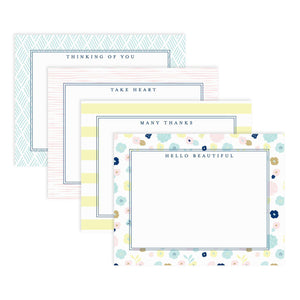 Gorgeous set of eight encouraging note cards from Muscadine Press designed to encourage, uplift, and inspire.