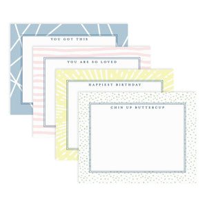 Uplifting notecard set from Muscadine Press