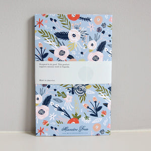 Garden Party Dwell Journal, a simple devotional prayer journal from Muscadine Press.
