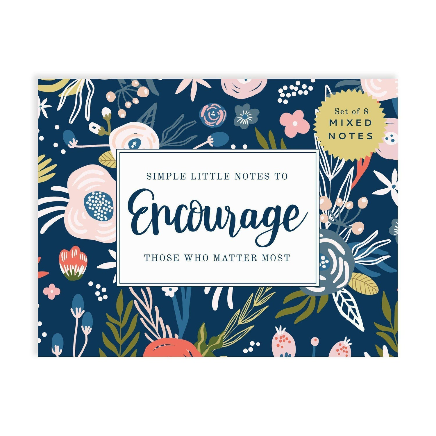 Encouragement notecard set from Muscadine Press.