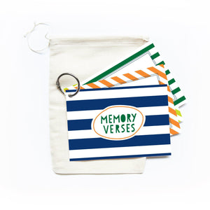 Memory Verse Ring, Rugby Stripe