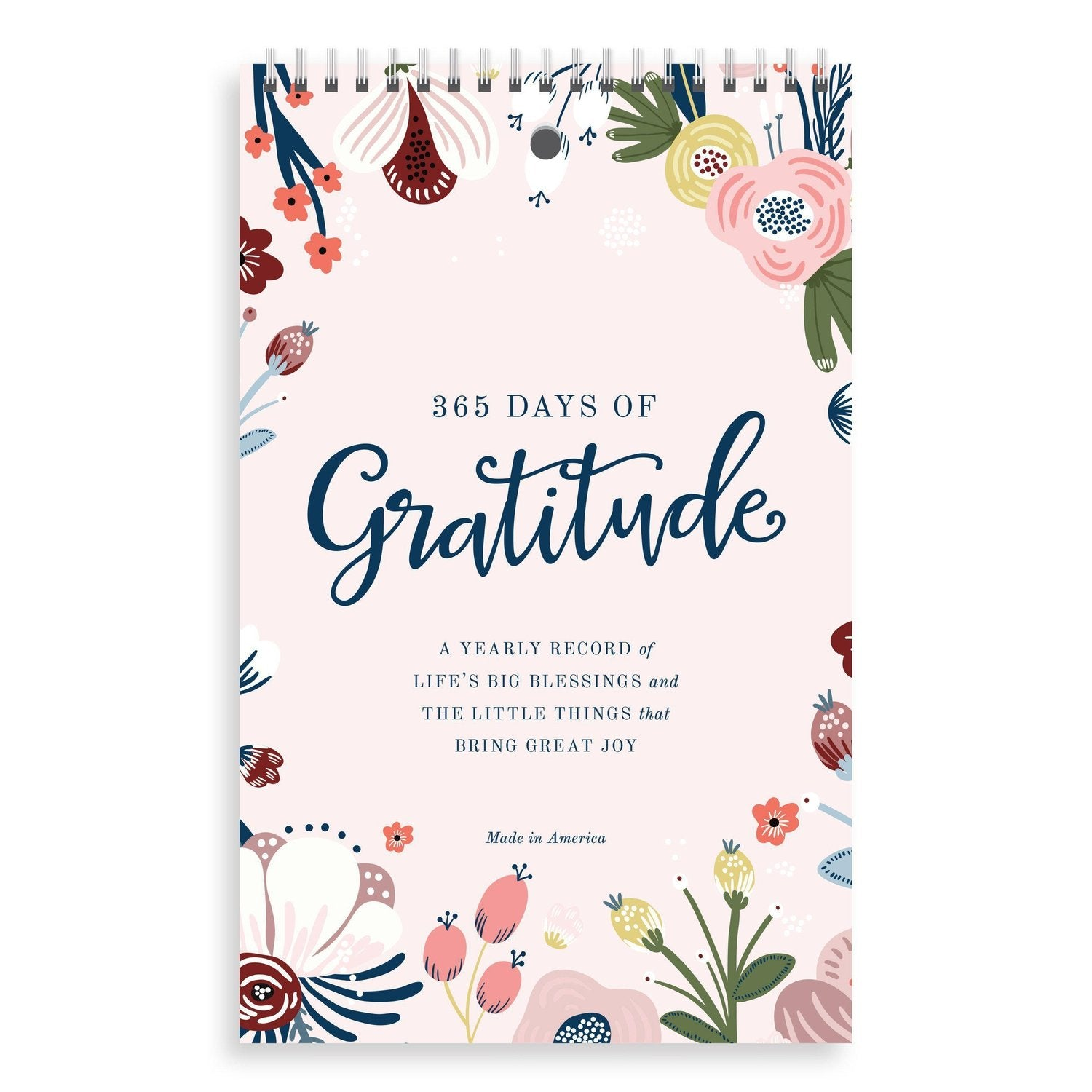 365 Days of Gratitude | Yearly Journal from Muscadine Press