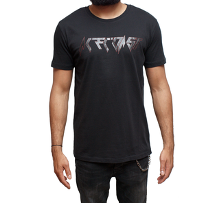 ACECOAST - Classic Black and Red print on Black T-shirt
