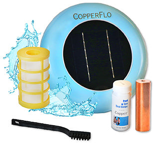 Solar Pool Ionizer - No More Algae