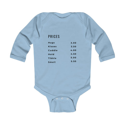 Image of Infant Long Sleeve Bodysuit