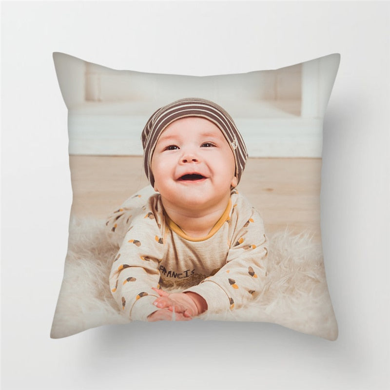 Custom Photo Pillow Cover