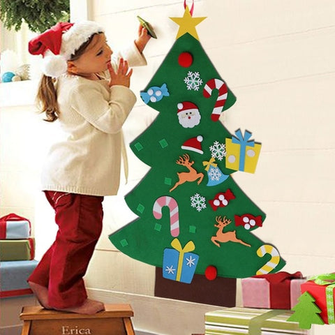 Image of Kids Felt Christmas tree