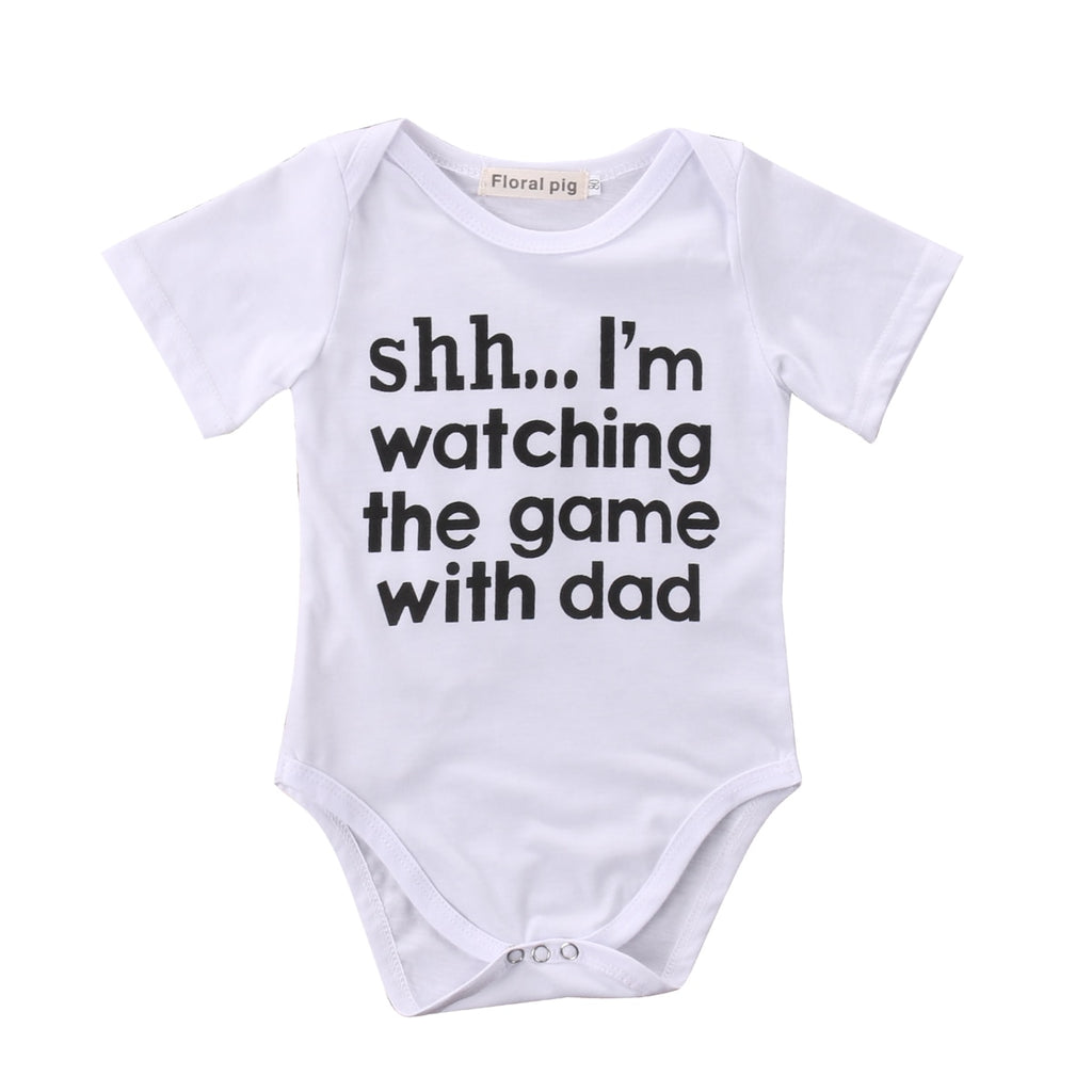 Game with Dad Onesie