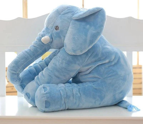 Image of Elephant Plush Pillow