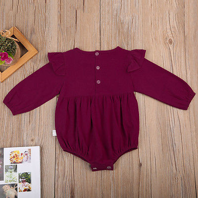 Image of Ruffle Autumn Sweater