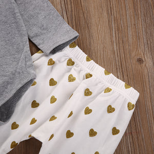 Hearts 3Pcs Set with Headband