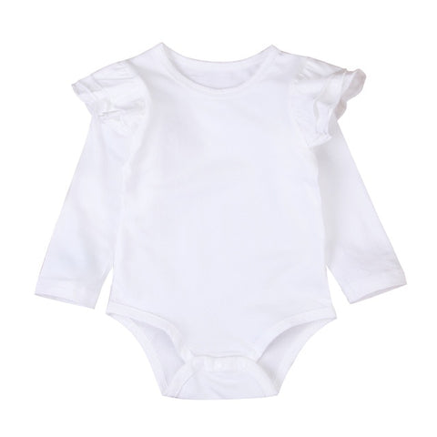 Ruffel Romper Sweater