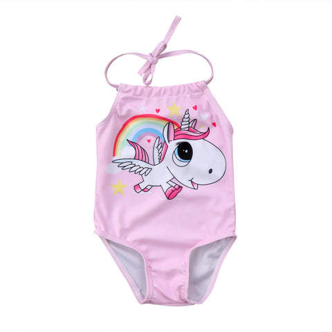 Image of Pink Unicorn Swimwear