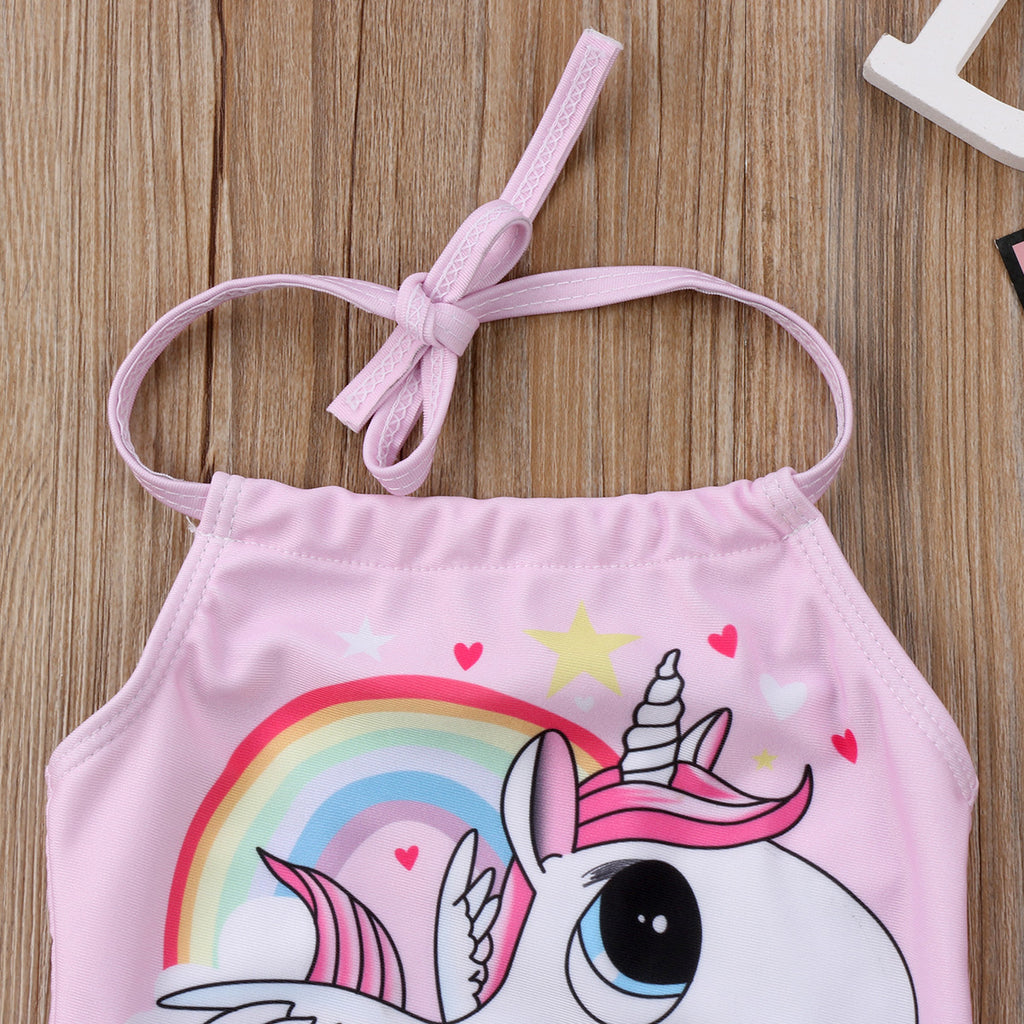 Pink Unicorn Swimwear